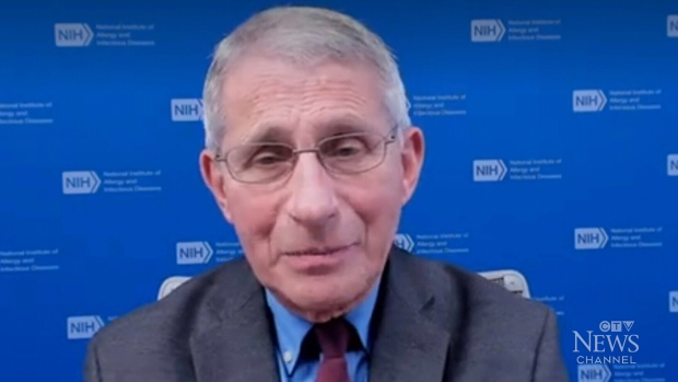 Top U.S. infectious disease expert Dr. Anthony Fauci