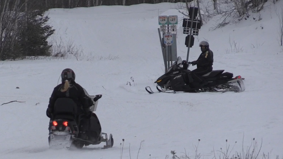 Timmins Snowmobiling