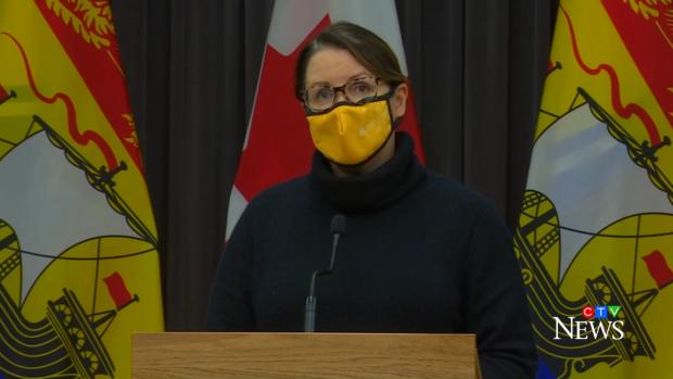 Edmundston region of New Brunswick enters red alert phase of pandemic precautions