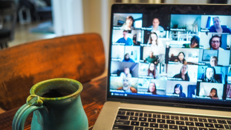 File photo of video meeting. (Chris Montgomery/Unsplash)