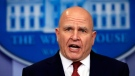 National Security Adviser H.R. McMaster, speaks to reporters during the daily press briefing in the Brady press briefing room at the White House, in Washington, Tuesday, Jan. 23, 2018. (AP Photo/Manuel Balce Ceneta)