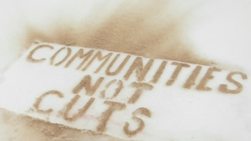 communities not cuts