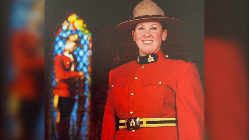 RCMP veteran Ashley Anderson from Surrey, B.C. was injured while making an arrest in Battleford, Sask. She then developed Complex Regional Pain Syndrome.