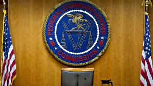 In a stark warning on Jan. 17, the Federal Communications Commission's enforcement bureau said people coordinating or conducting criminal activity over radio waves are breaking the law. (Andrew Harrer/Bloomberg/Getty Images/CNN)