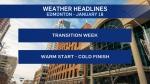 Jan. 18 weather headlines