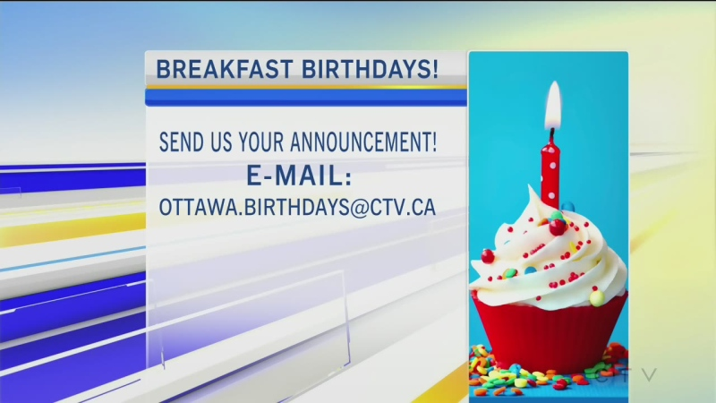 CTV Morning Live BIrthdays Jan 18