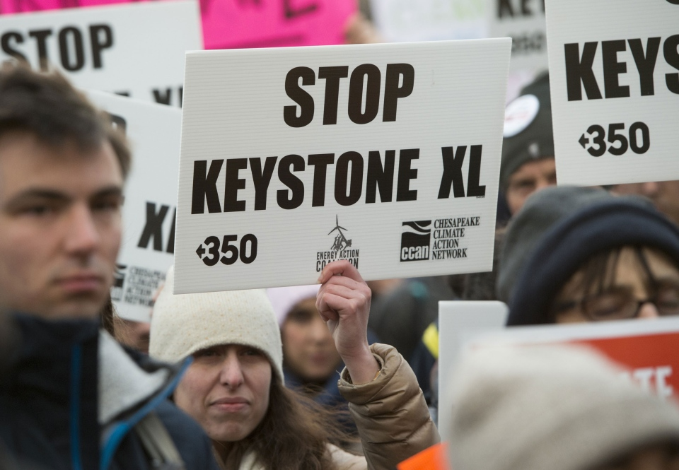 Protests against the Keystone XL pipeline