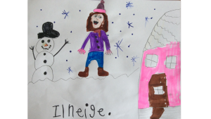 Willow, 7 years old, Grade 2, St. Josephs School, Arnprior