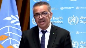 WHO Director-General Dr. Tedros Adhanom Ghebreyesu