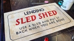 Lending Sled Shed