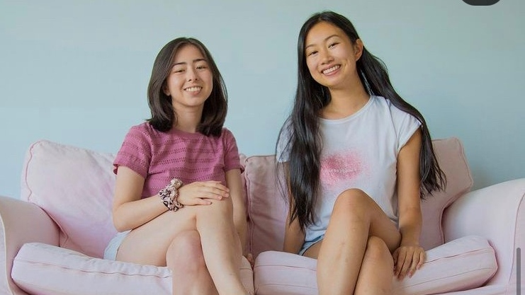 Chloe Beaudoin and Jessica Miao founders of Apricotton