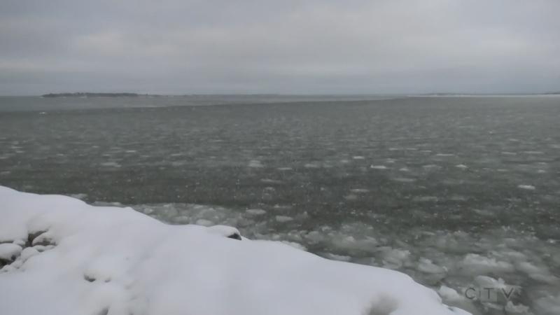 Open water on Georgian Bay