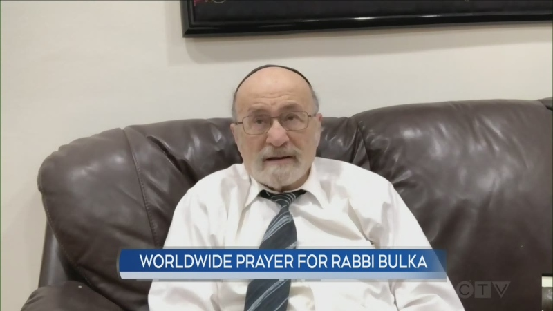 'Grateful for the life I've had': Rabbi Bulka