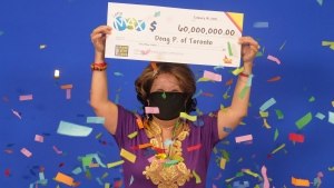 Toronto woman wins $60-million Lotto Max jackpot with numbers husband dreamt of 20 years ago