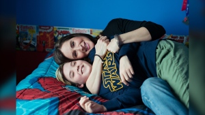 Audrey Veltri's 12 year old son Madden has autism and FSCD funding has been instrumental in helping cover costs such as speech language therapy, behavioural counselling and family respite.