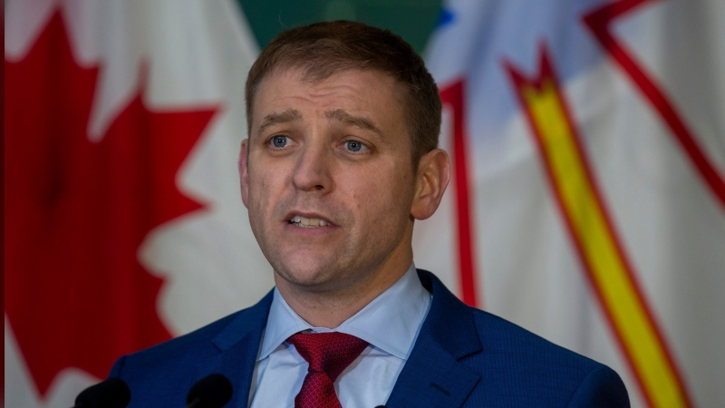 A spokeswoman for Liberal Leader and incumbent Premier Andrew Furey said his campaign has been advised he was likely the intended target of the incident.
