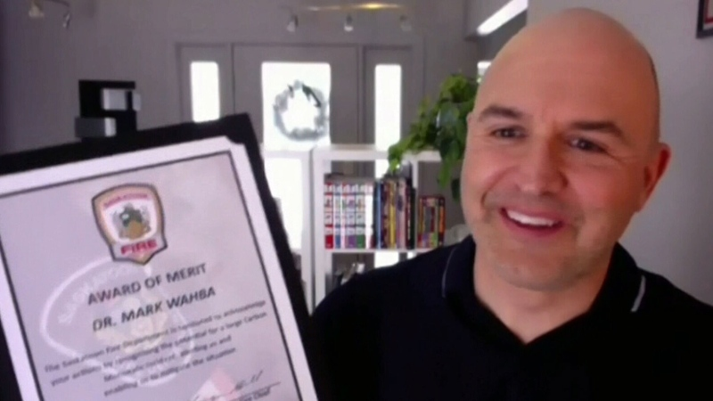 Saskatoon doctor recognized
