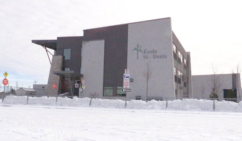 Health officials in Greater Sudbury say an outbreak has been declared at Ecole St-Denis, a French Catholic elementary school in Sudbury. (Alana Everson/CTV News)