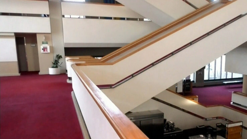 Centennial Concert Hall getting restored
