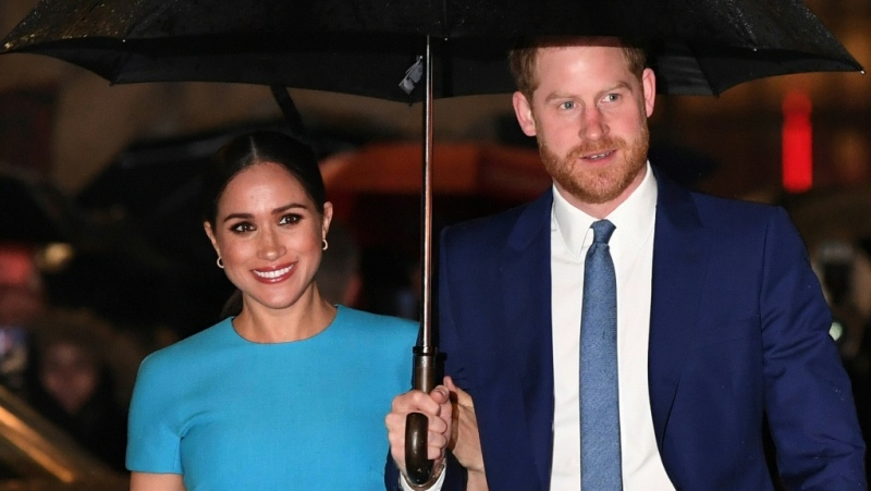 Meghan and Harry are waging an increasingly public war with some media outlets. (AFP)