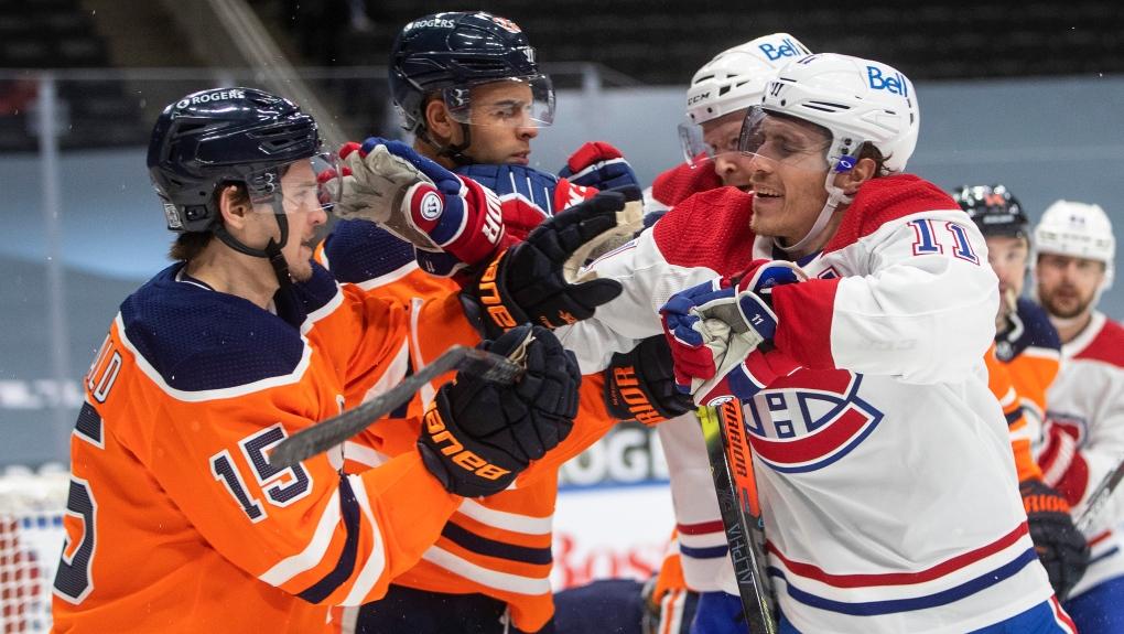 Edmonton Oilers vs. Montreal Canadiens