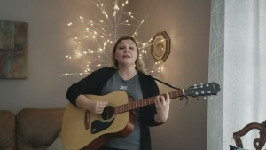 Lauren Kroll from Sault Ste. Marie sings Alanis Morrisette's song 'Hand in my Pocket.'