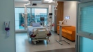 A digital Intensive Care Unit room at Cortellucci Vaughan Hospital in Vaughan, Ontario on Monday, January 18, 2021. The new hospital is being opened to take patients from other hospitals that are strained by COVID-19. THE CANADIAN PRESS/Frank Gunn
