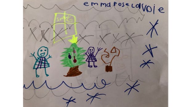 Emma Lavoie, 5 years old, SK, École L'Odyssée Orleans