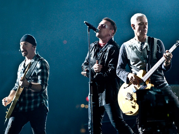 U2 performs at BC Place in Vancouver, B.C., on October 28, 2009. (Anil Sharma for ctvbc.ca)