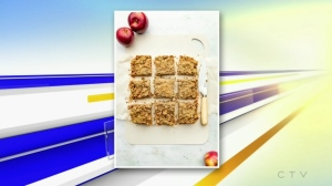 Apple Crumble Bars