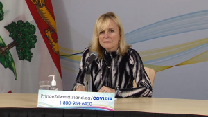 """While many Canadians are functioning under strict public health measures, in P.E.I. we are in the fortunate situation of gradually easing back to a new normal,"" said Dr. Heather Morrison, P.E.I. Chief Medical Officer of Health, during a news update on Jan. 19, 2021."