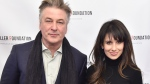 Alec Baldwin (left) leaves Twitter after the uproar over his wife's heritage. (Michael Loccisano/Getty Images/CNN)
