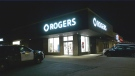 The Roger Mobility store on Young Street in Alliston, Ont., on Mon., Jan. 18, 2021 (Steve Mansbridge/CTV News)