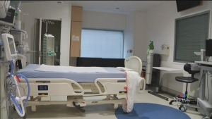 Ste. Justine's children's hospital is prepared to admit six adult COVID-19 or trauma patients to the ICU if need be.