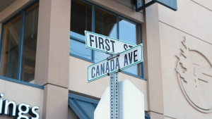 Seven street names in downtown Duncan, including Canada Avenue and First Street, will soon feature be bilingual: (Downtown Duncan Business Improvement Area)