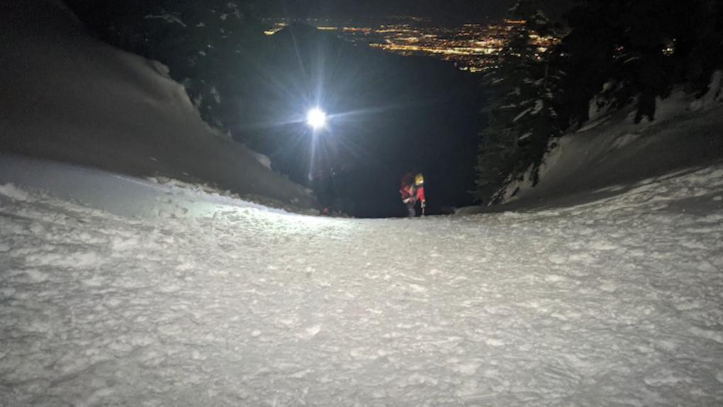 Rescue on Mount Seymour