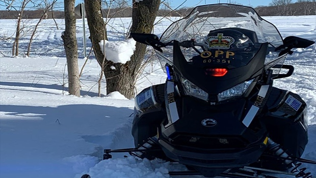 OPP snowmobile. (File image)