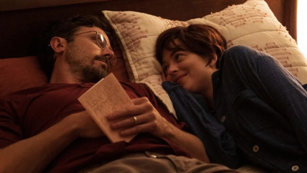 "Casey Affleck and Dakota Johnson in a scene from ""Our Friend."" (Gravitas Ventures/Universal)"