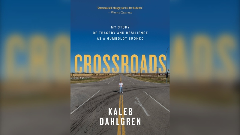 Kaleb Dahlgren says his memoir spans his life from childhood until the summer of 2019.