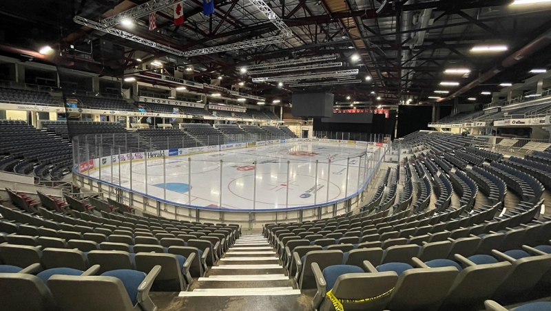 The Lethbridge Hurricanes last played a game at the ENMAX Centre in March 2020. The WHL is waiting approval from local governments to begin an abbreviated 24-game season.