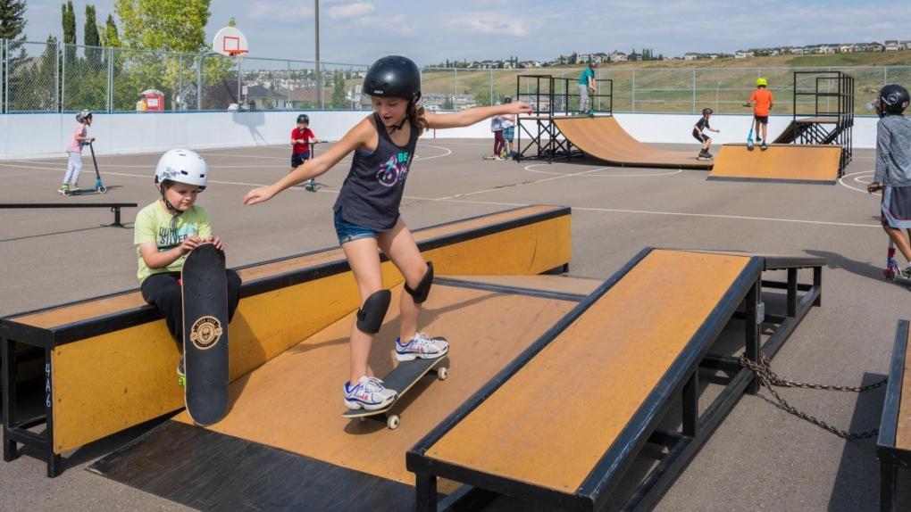 Calgary mobile skatepark