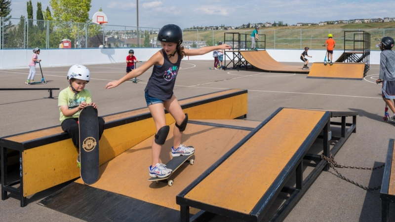 The city has found buyers for five mobile skateparks. (City of Calgary)