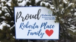 Roberta Place long-term care home in Barrie, Ont., is battling a deadly COVID-19 outbreak. (Rob Cooper/CTV News)