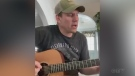 Chapleau's Greg Lafleur sings 'Dust on the Bottle'