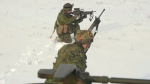 The third battalion of the Princess Patricia's Canadian Light Infantry unit during a training exercise. (File: Canadian Armed Forces)