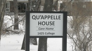 Regina's Qu'Appelle House is pictured. (Colton Wiens / CTV News Regina)