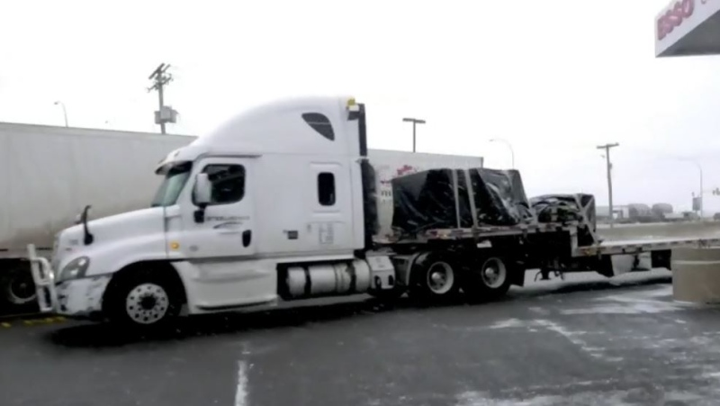 Even though they are exempt from the self-isolation rule that requires travellers to quarantine for 14 days, some truck drivers say the message is not getting across.