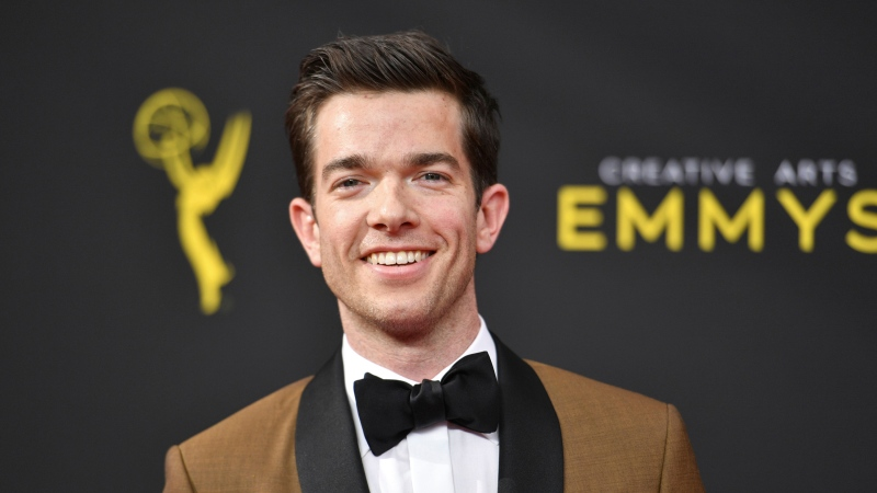 John Mulaney arrives at night one of the Creative Arts Emmy Awards on Sept. 14, 2019, in Los Angeles. (Photo by Richard Shotwell/Invision/AP, File)