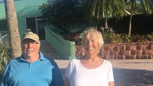 Steve MacDonald and his wife Janet