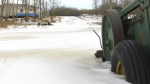 Work in Elk Island National Park is being blamed for flooding in Lamont County. Tuesday Jan. 19, 2021 (CTV News Edmonton)
